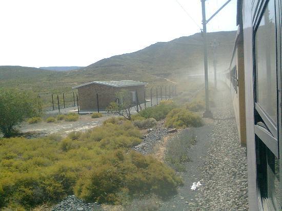 Trans Karoo (Shosholoza Meyl): view from the train