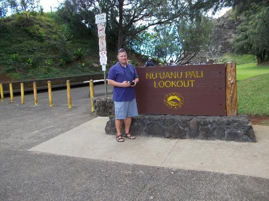 Nuuanu Valley Rain Forest: entrance
