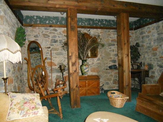 The Harlan House: Wine Cellar