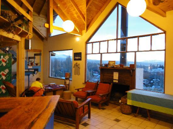 Interior do hostel picture of america del sur hostel el for Design hotel el calafate