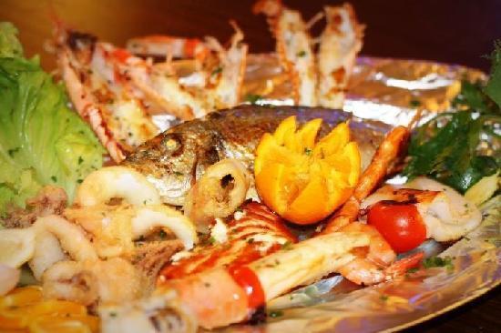 Fish House Ristorante Pizzeria: grigliata