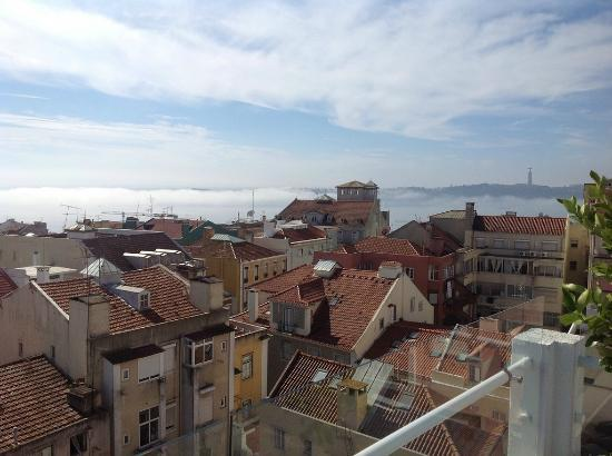 The House: Morning fog over the Tagus River