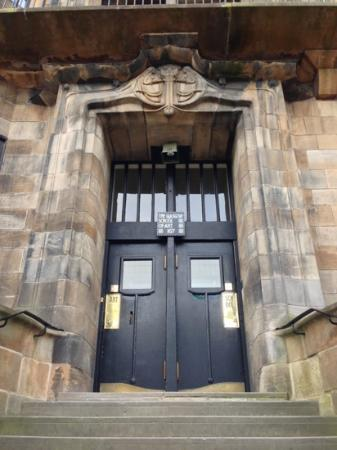 The Glasgow School Of Art: GSofA Front Door