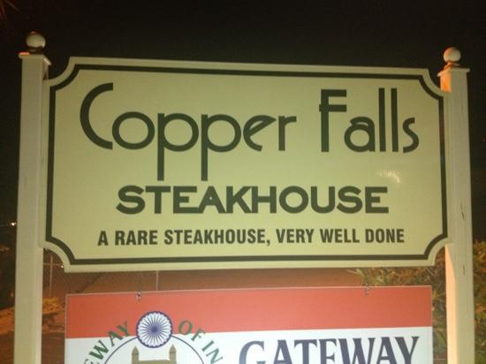 Copper Falls Steakhouse : and how!