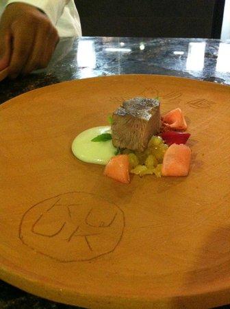 Kuuk: Venado y rabanos emulsionados