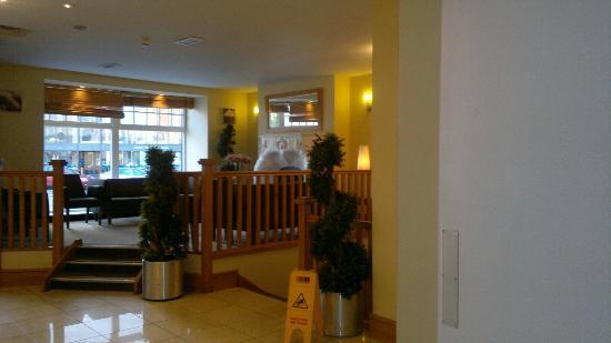 Beresford Hotel: espacio anexo en el hall de entrada