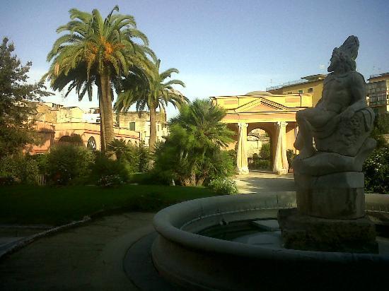 ميجليو دورو بارك هوتل: Vista parco
