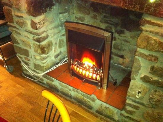 Rupsha: cosy fire!