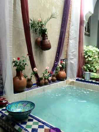 Riad Tamarrakecht: La piscina