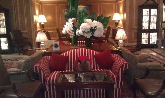 Sir Stamford at Circular Quay Hotel Sydney: Main sitting room
