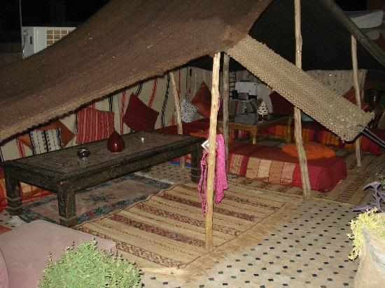 Riad Tamarrakecht: La tenda beduina