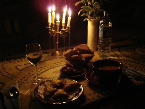 Riad Tamarrakecht : ... dove potrete assaporare l'ottima cucina della mamma di Sara
