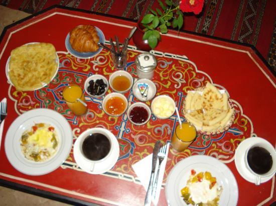 Riad Tamarrakecht : Una colazione infinita!