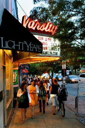 Chapel Hill, NC: Historic Varsity Theatre on Franklin Street