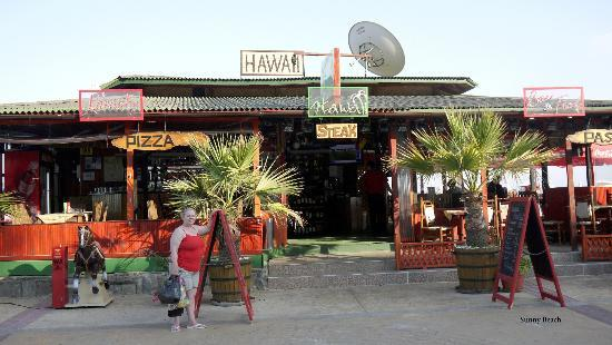 Hawaii Restaurant and bar Sunny Beach : Hawaii bar/restaurant, Sunny Beach