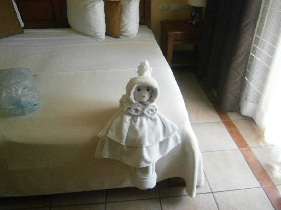 Hotel Riviera Caribe Maya: Servicio de la habitación