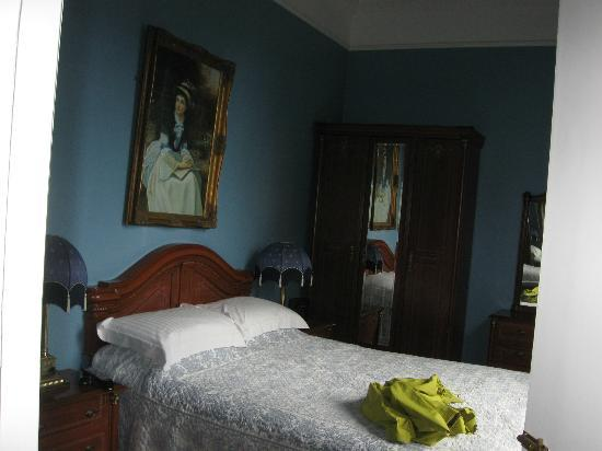 "Highfield House: our ""blue room"" on the first floor"