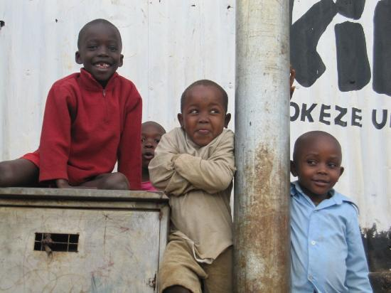 The children of Kibera.