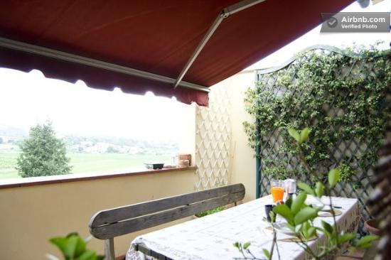 B&B La Piccionaia: terrazzo comune