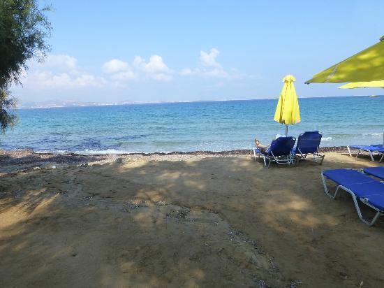Naxos Imperial Resort & Spa: plage privée de l' hotel