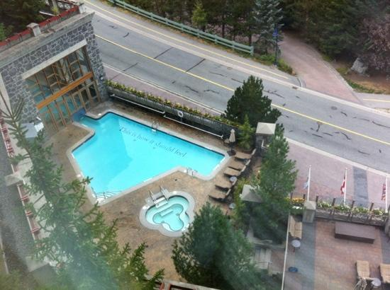 ‪‪The Westin Resort & Spa, Whistler‬: outdoor spa‬