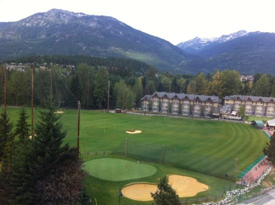 The Westin Resort & Spa, Whistler: view from room in west tower