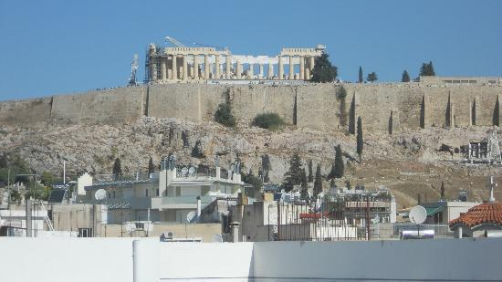 Ξενοδοχείο Acropolis Select: View from top floor