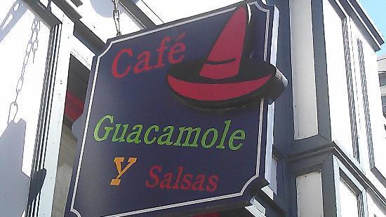 Cafe Guacamole Y Salsas: bienvenido