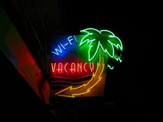 Caribbean Motel: Caribbean Motel neon 