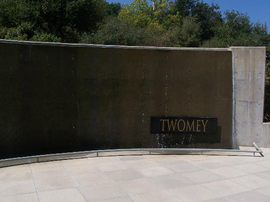 Twomey Cellars Water Wall