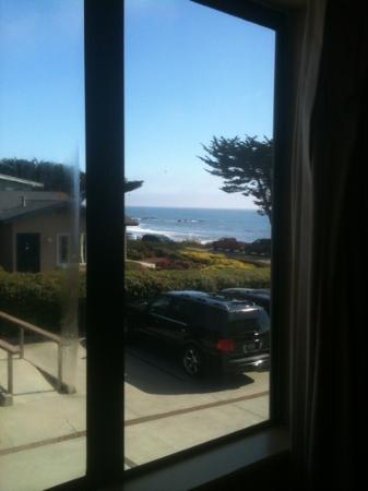 Cambria Landing Inn & Suites: View from Room 208