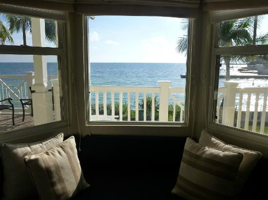 Southernmost Beach Resort: View from the bay window of room