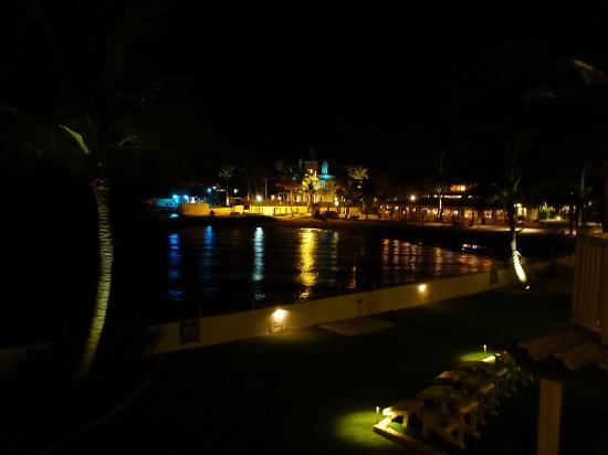 Southernmost Beach Resort: Looking toward South Beach at night