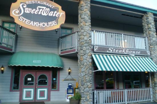 Sweetwater Steakhouse: la facade