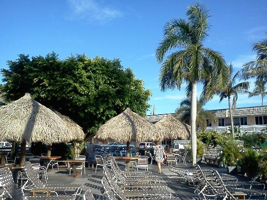 Outrigger Tiki Bar and Deckside Cafe : Beautiful view