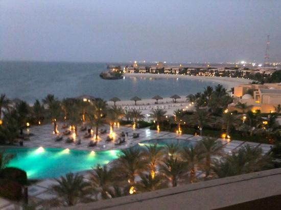 Hilton Ras Al Khaimah Resort & Spa: our view from room 3510