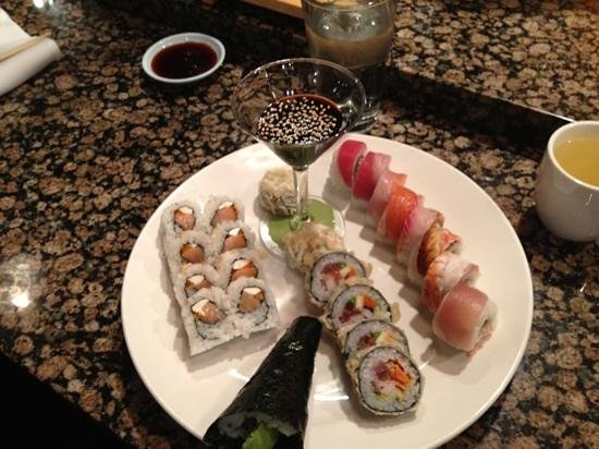 Japango Sushi Restaurant: Tuesday all you can way sushi