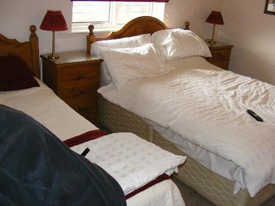 Meadowcroft Country Guest House : Double bed & single bed