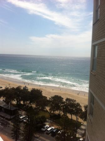 Grosvenor Beachfront Apartments: from our balcony