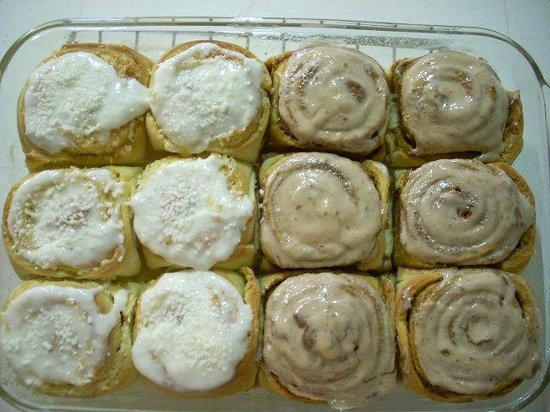 The Cinnabus: Hot pan of Coconut and Nutella rolls