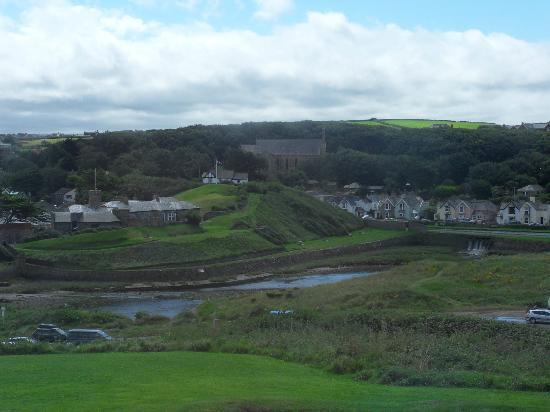 Atlantic House Hotel: green and pleasant land