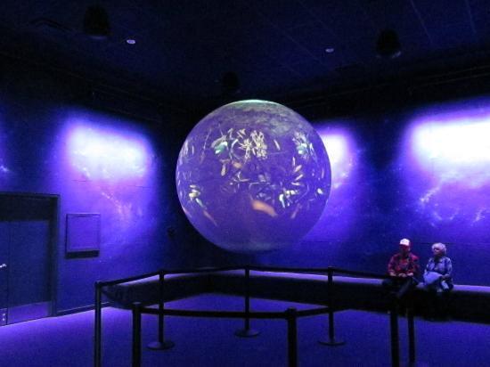 The Wild Center: Planet Adirondack's floating globe