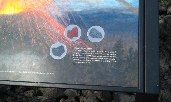 Lava Lands Visitor Center: Trail of Molten Land