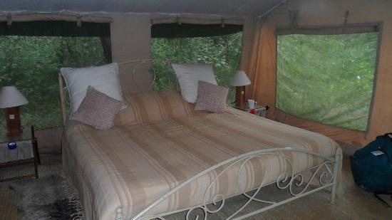 Nairobi Tented Camp : How about that more than 5 stars in the wolderness?
