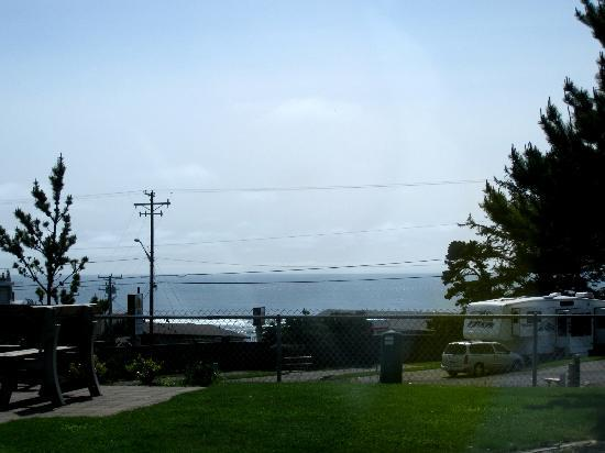 Premier RV Resort of Lincoln City Oregon: Some sites have an ocean view - Premier RV Resort