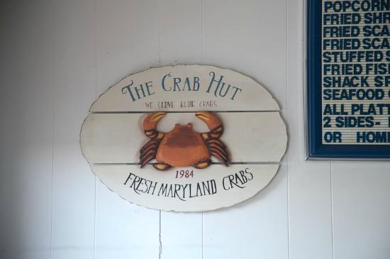 Stevensville Crab Shack: crab shacky motif