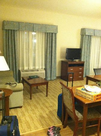 Homewood Suites by Hilton Wilmington/Mayfaire: 'living room' area with pull out couch