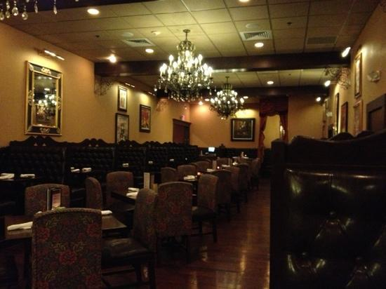 Amber Grill: dining area