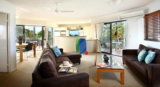 Dicky Beach, Úc: Three Bedroom Deluxe Apartment