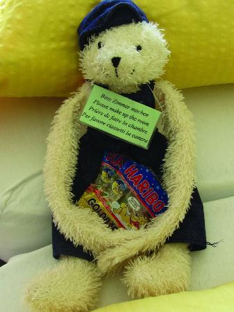 Hotel Baeren: welcome bear